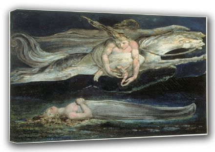 Blake, William: Pity. Fine Art Canvas. Sizes: A3/A2/A1 (00447)